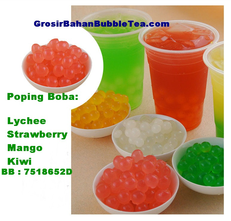 how to make strawberry boba pearls