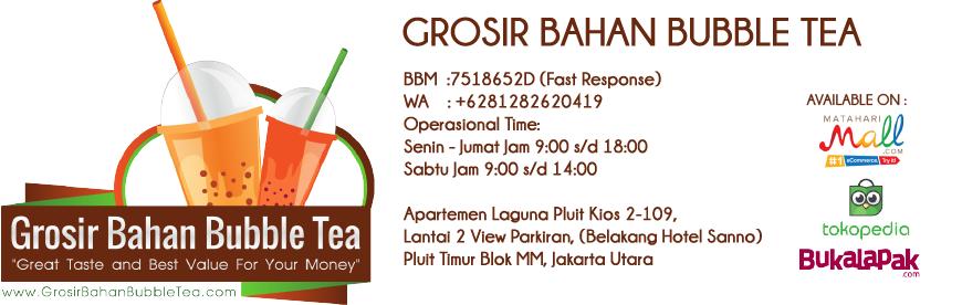 Grosir Bahan Bubble Tea Jakarta – Bahan Baku bubuk minuman bubble tea, bahan baku crispy chicken xxl shihlin, bahan baku dessert taiwan
